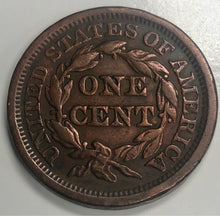 Load image into Gallery viewer, 1849 Braided Hair Large Cent 1 Penny