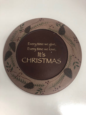 Home Decor Round Christmas Decor Sabrina Wingren