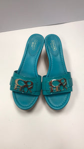 Shoe Size 8 Coach Teal Women's Shoes