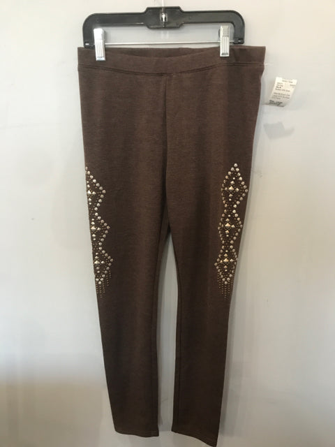 Miss Me Brown Size Large NEW Boutique Girls Pants