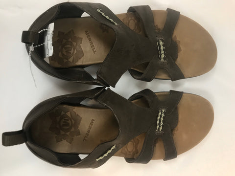 Merrell Brown Size 10 Women Sandals/Shoes