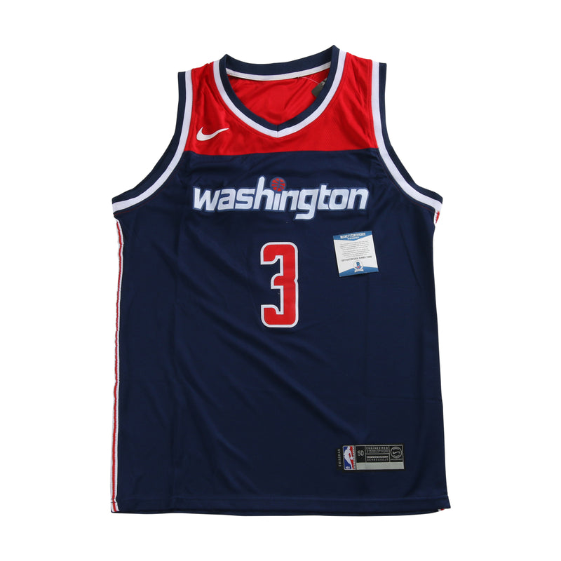 Bradley Beal Signed Washington Wizards Jersey
