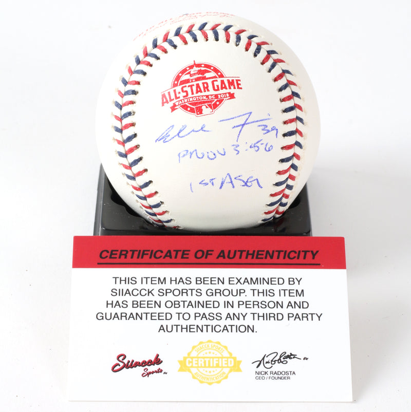 Blake Treinen SIGNED 2018 All Star OMLB Oakland A's