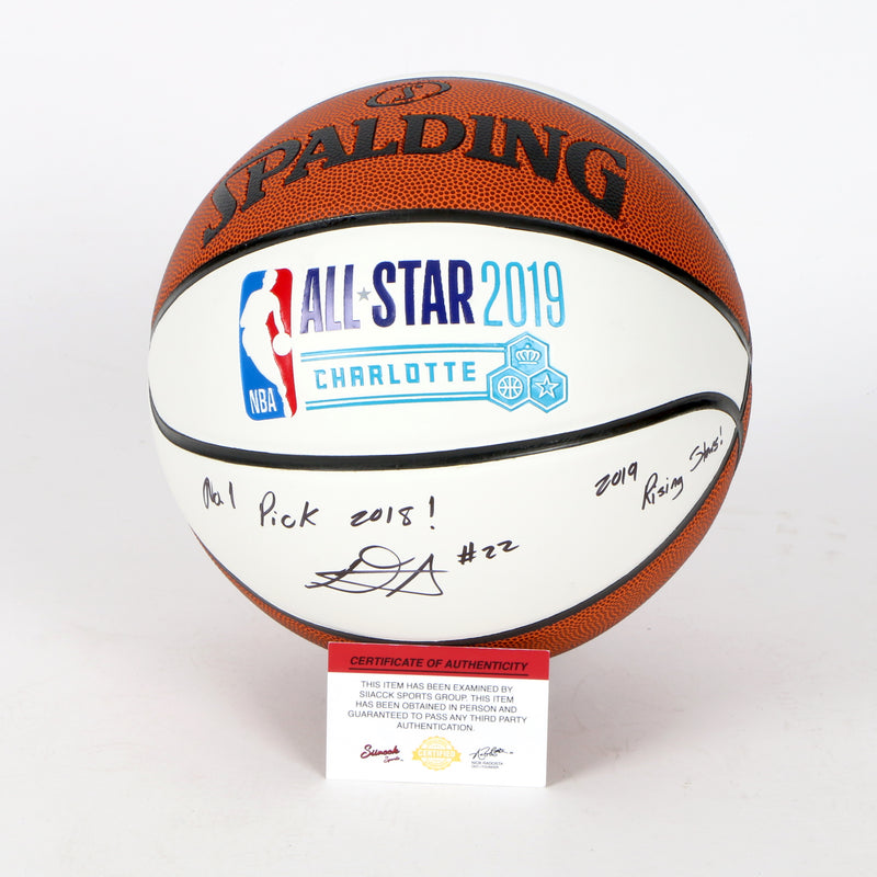 Deandre Ayton Signed 2019 All Star Basketball Phoenix Suns Inscribed