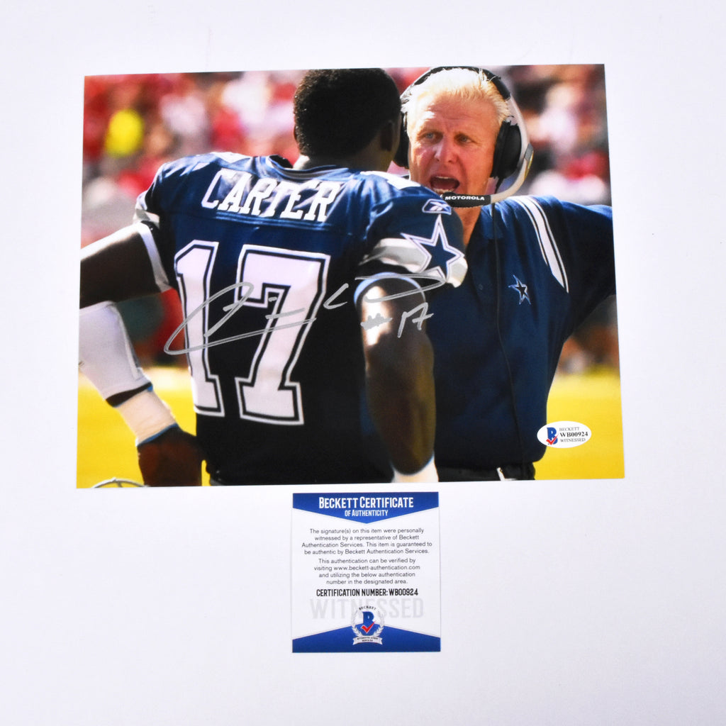 Quincy Carter Signed 11x14 Dallas Cowboys Photograph