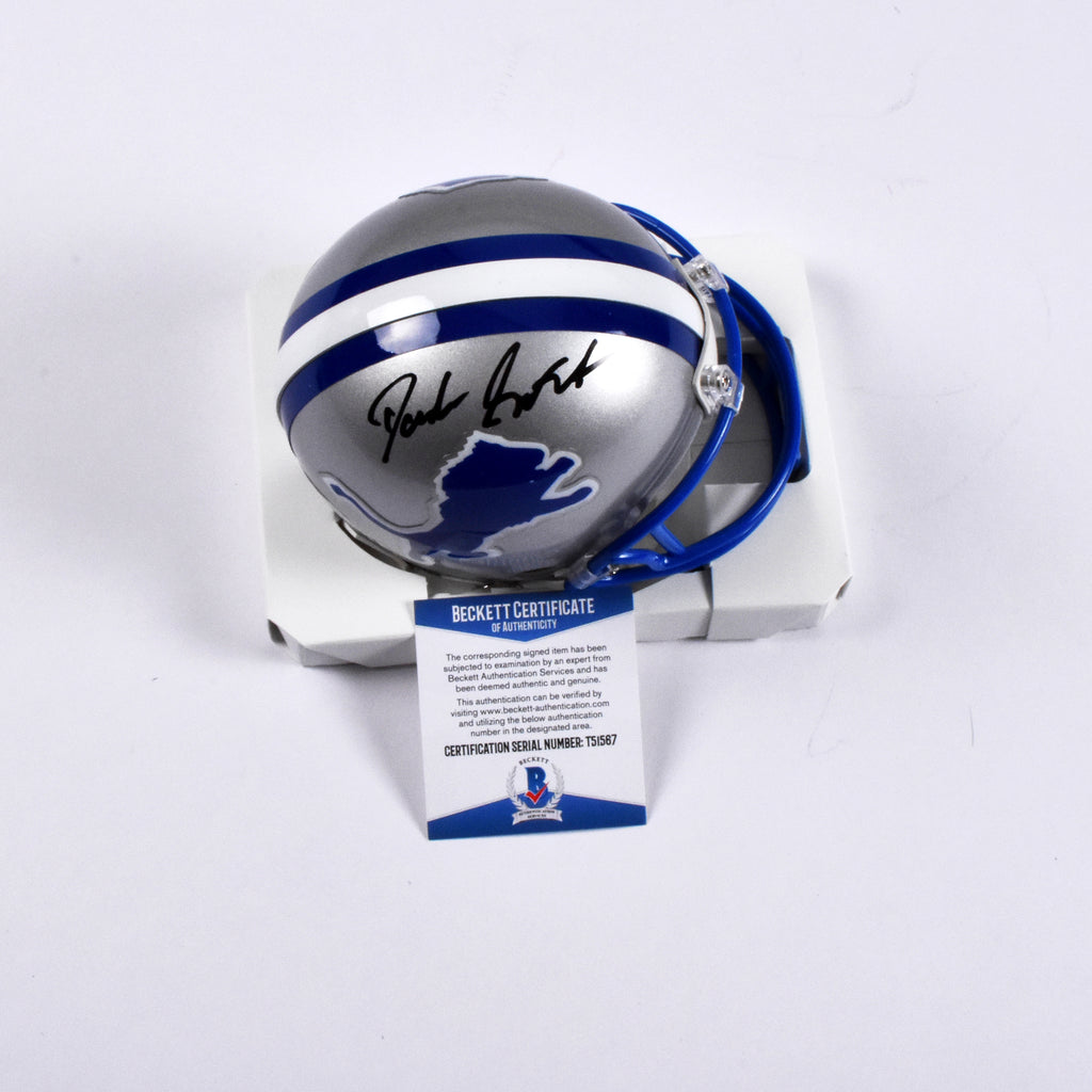 D'Andre Swift Signed Detroit Lions Replica Mini Helmet