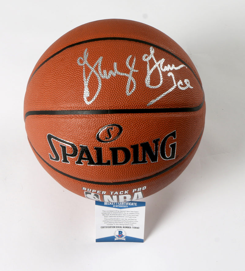 George Gervin Signed Basketball