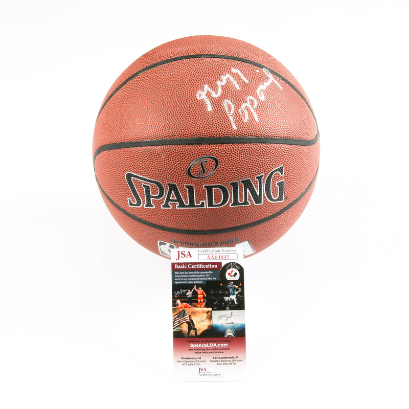 Gregg Popovich Signed Basketball