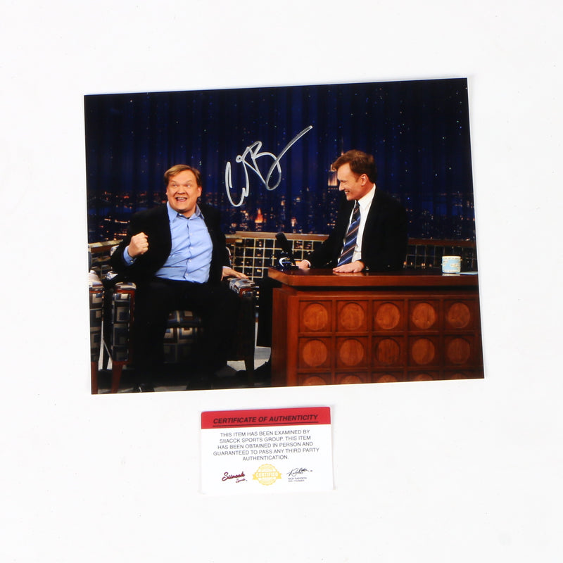 Conan O'brein Signed 8x10 TV Host