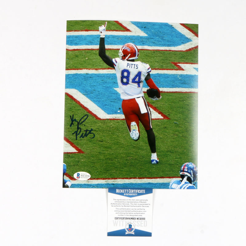 Kyle Pitts Signed 8x10 Florida Gators Pointing Up