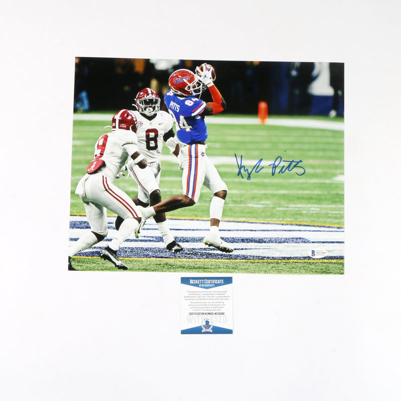 Kyle Pitts Signed 11x14 Photo Florida Gators (SEC)