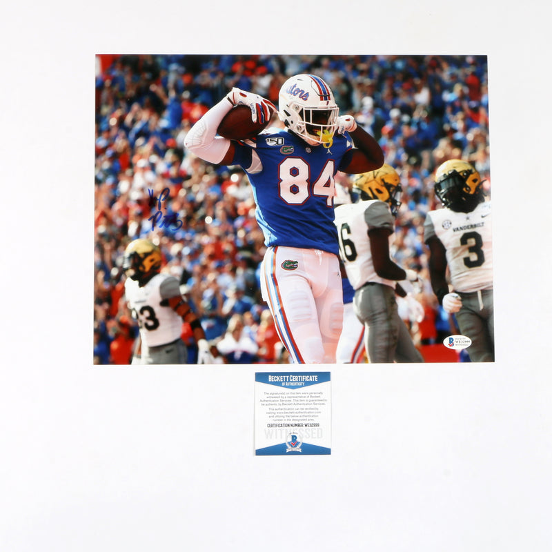 Kyle Pitts Signed 11x14 Photo Florida Gators (Flex Color)