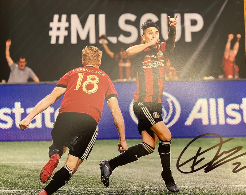 Franco Escobar Signed 8x10 MLS CUP GOAL 4 Atlanta United FC
