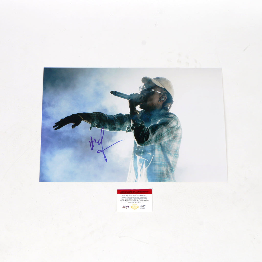 Wiz Khalifa Signed 11x14 Photo Pittsburgh TGOD