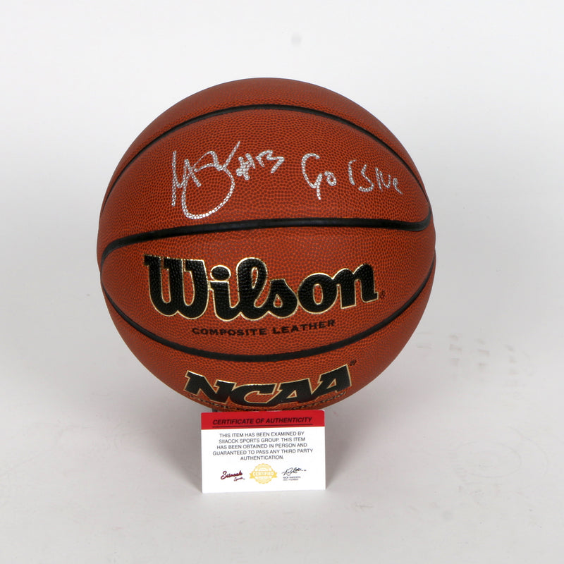 Trae Young Signed Basketball Atlanta Hawks