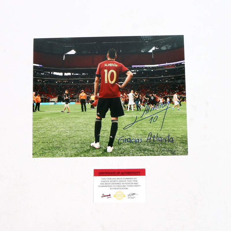 Miguel Almiron 8x10 Atlanta United FC Inscribed