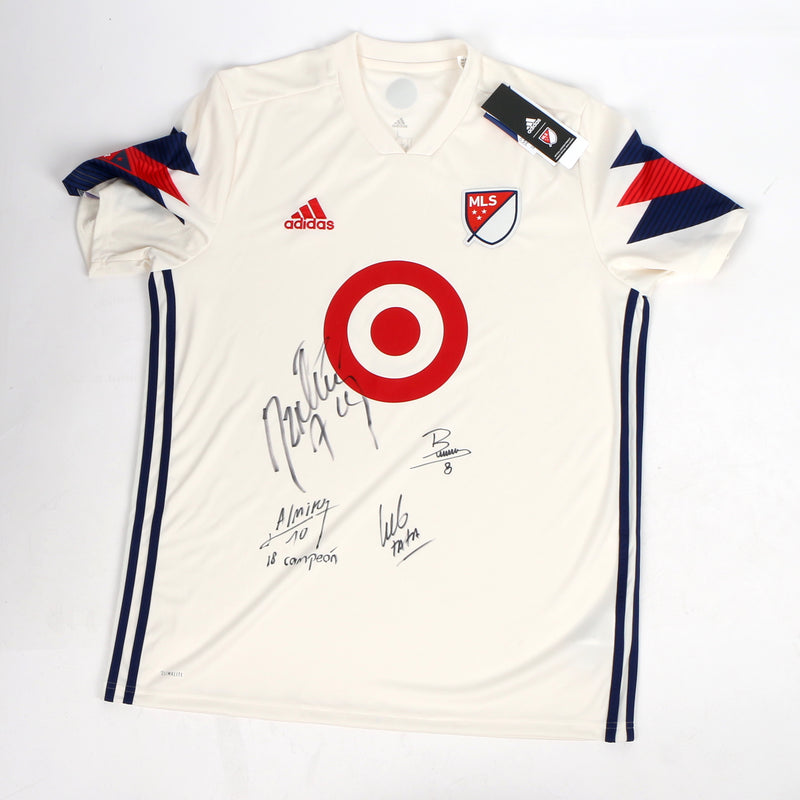 MLS All Stars Atlanta United Almiron Team Signed Jersey Authentic Inscriptions!!