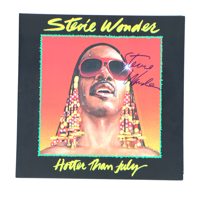 Stevie Wonder Signed Vinyl