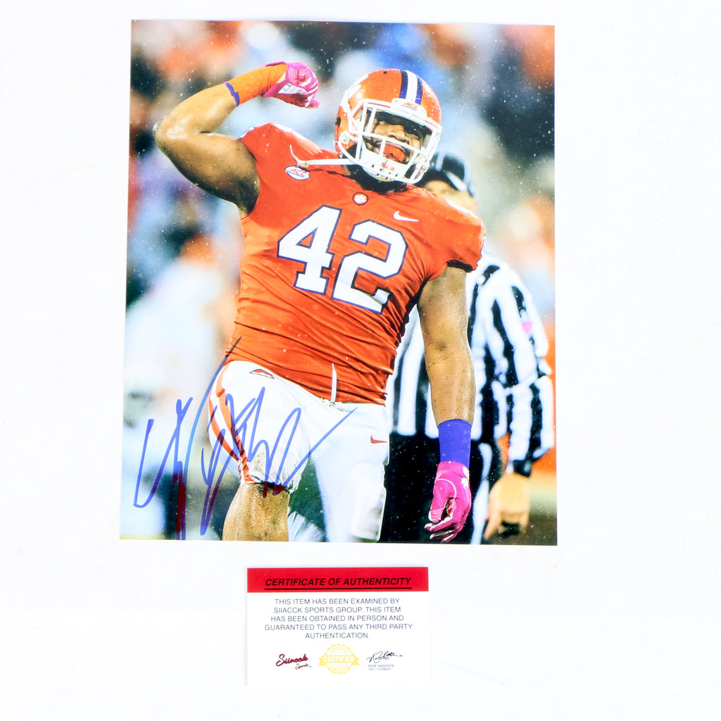 Christian Wilkins Signed 8x10 Photo Clemson Tigers