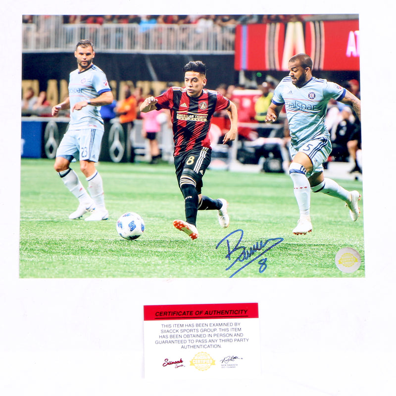 Ezequiel Barco Signed 8x10 Running for Ball Atlanta United FC