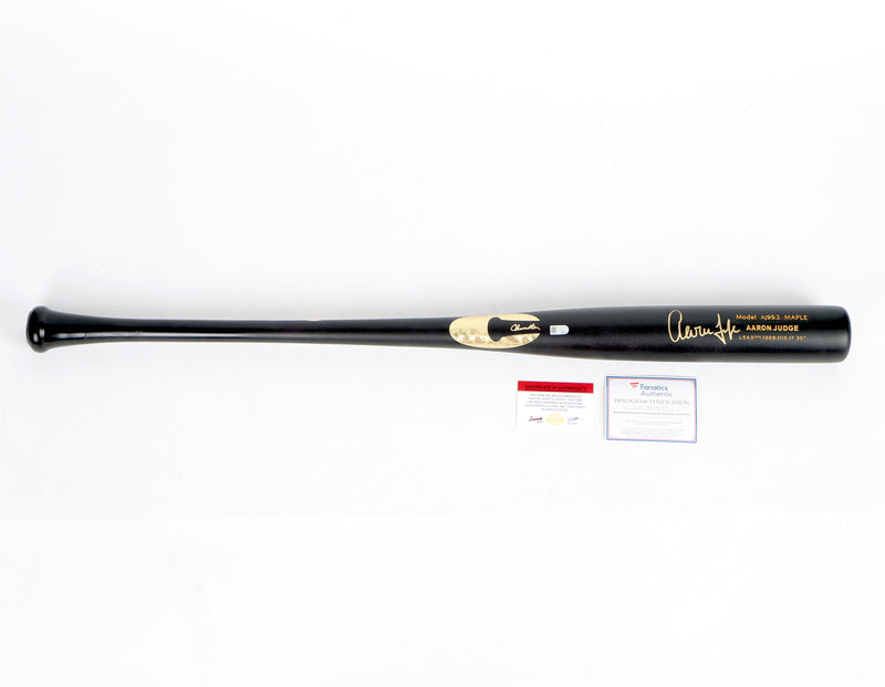 Aaron Judge Signed Game Model Bat New York Yankees