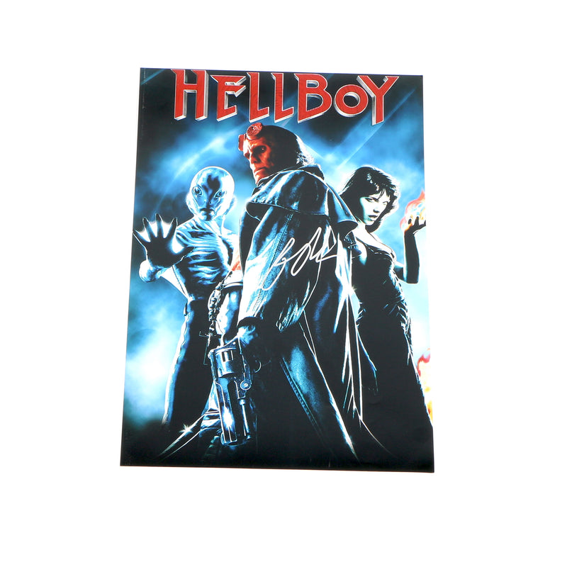 Ron Pearlmen Hellboy Signed 12x18 Movie Poster