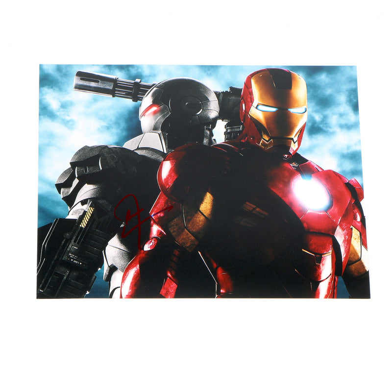 Don Cheadle Signed 8x10 Avengers