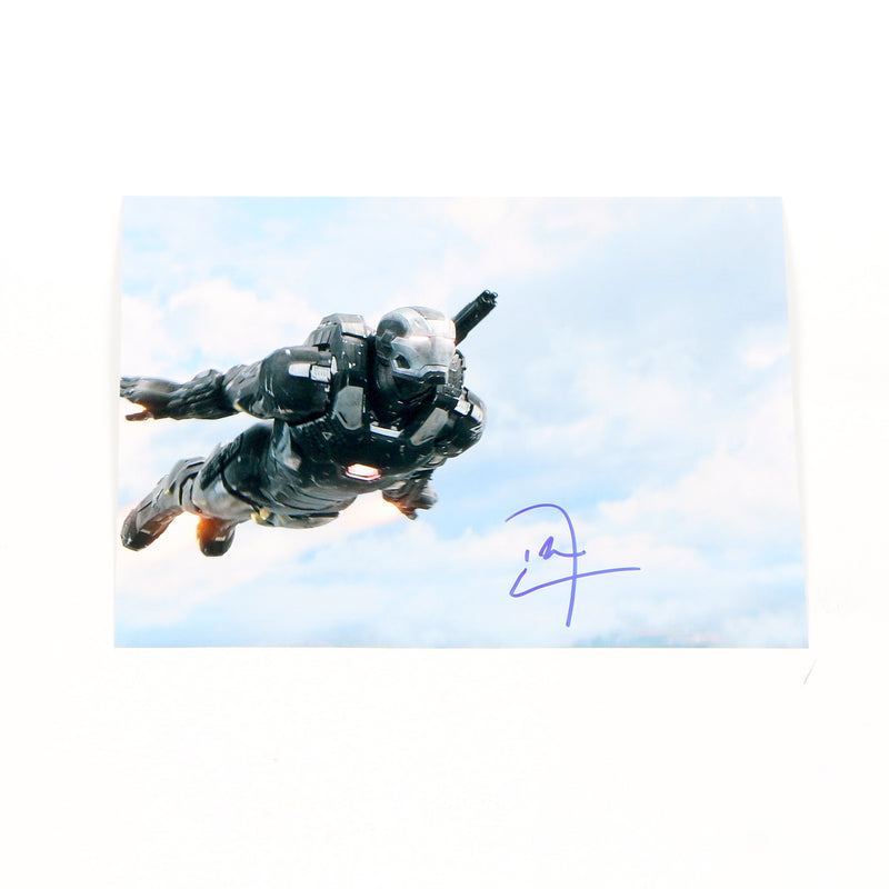 War Machine Don Cheadle Signed 8x10 Avengers War Machine