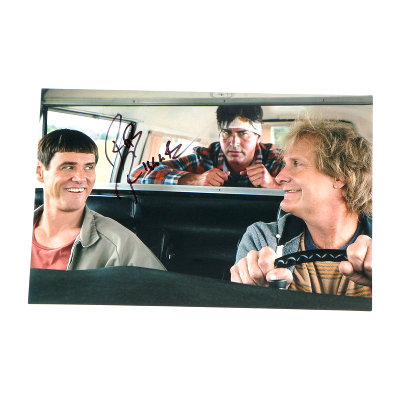 Rob Riggle Signed 8x12 Dumb and Dumber