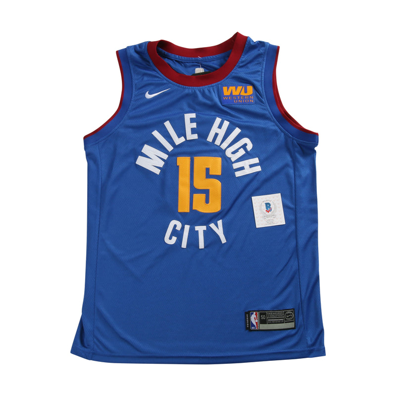 "Nikola Jokic Signed Denver Nuggets City Edition Jersey ""The Joker"" Inscribed"