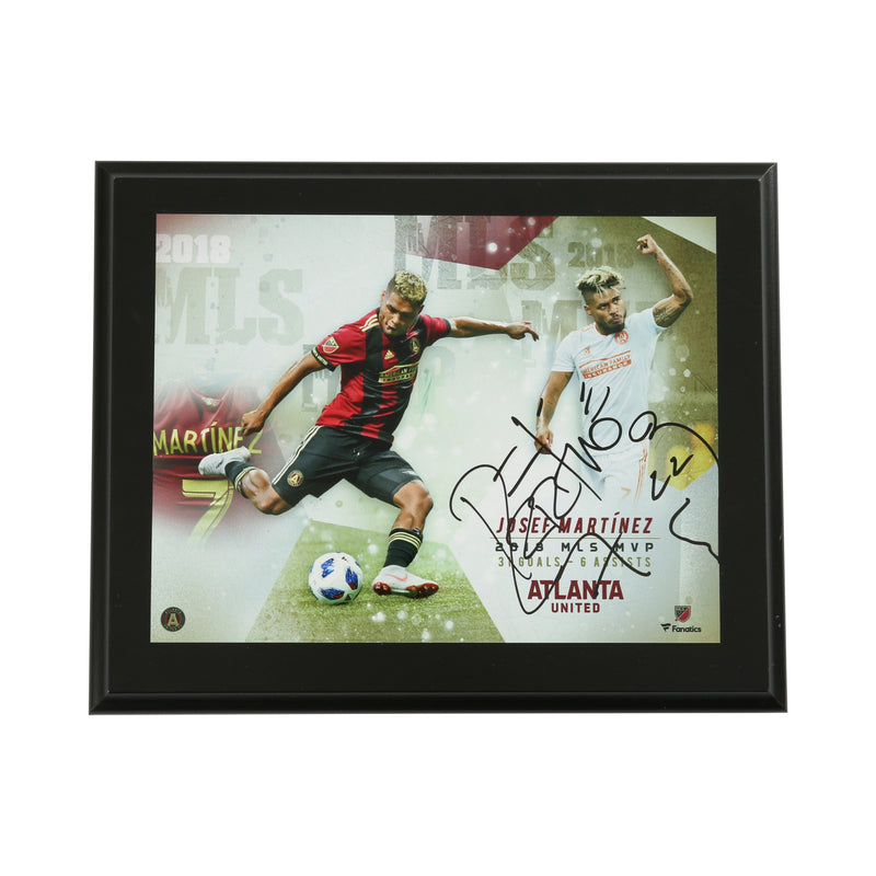 Josef Martinez signed MVP Plaque Atlanta United FC
