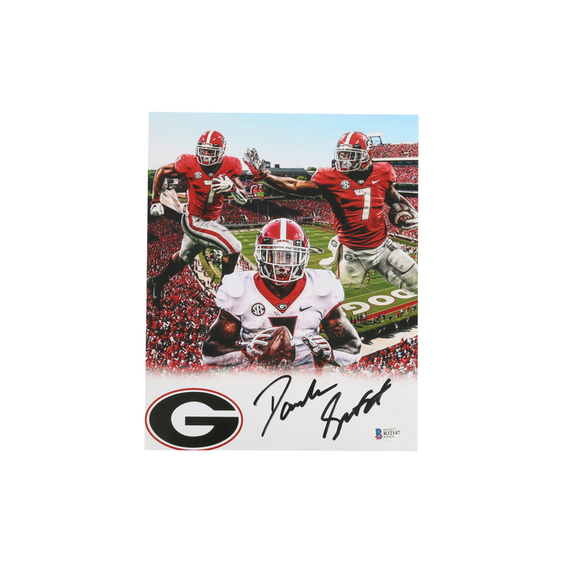 D'Andre Swift Signed 8x10 Georgia Bulldogs Edit