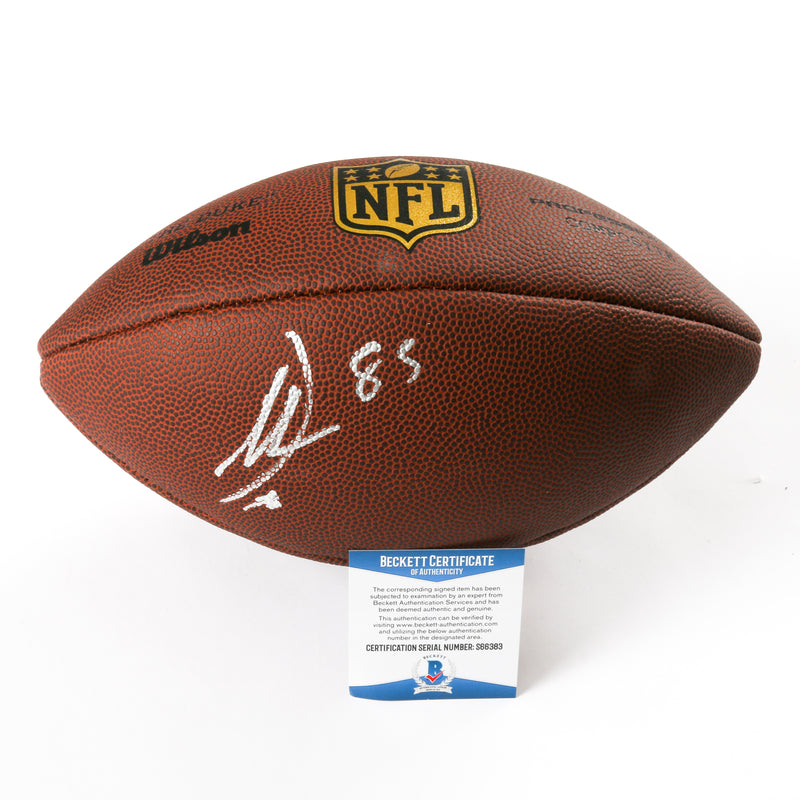 Antonio Gates Signed Football Chargers