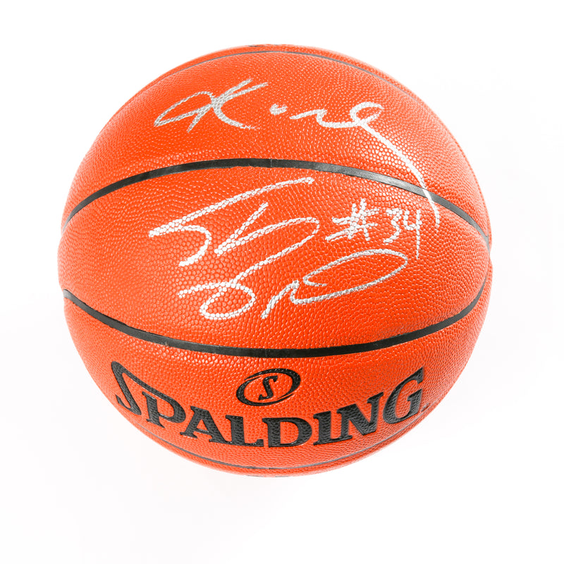 Kobe and Shaq Signed Basketball Los Angeles Lakers