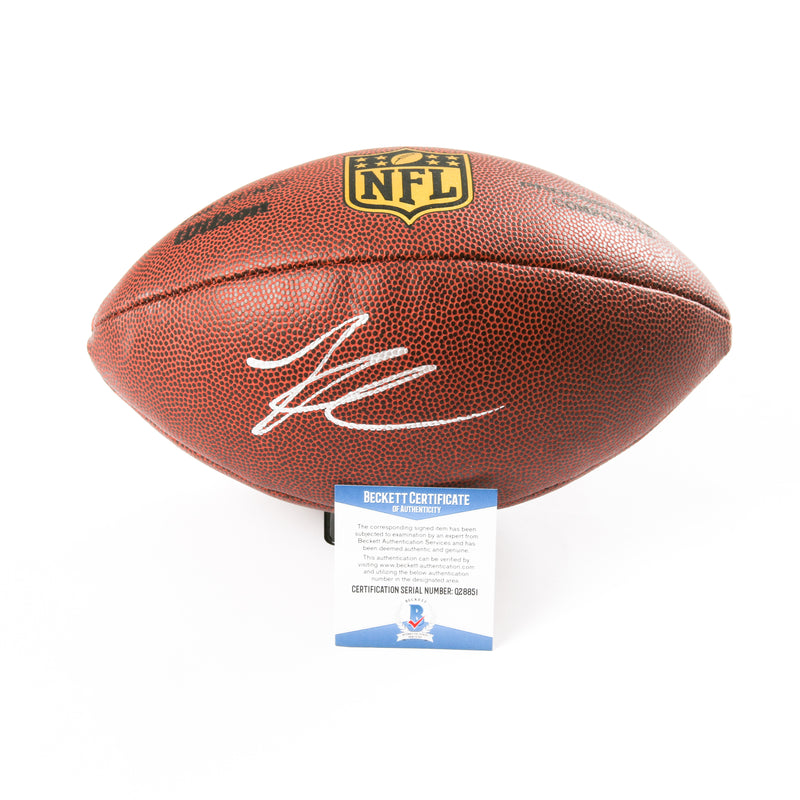 Kirk Cousins Signed Football Minnesota Vikings