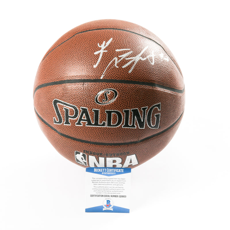 Romeo Langford Signed Basketball Boston Celtics