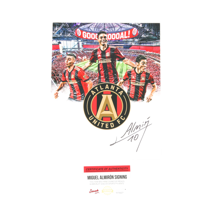 Miguel Almiron 8x10 Goal Stadium Edit Atlanta United FC