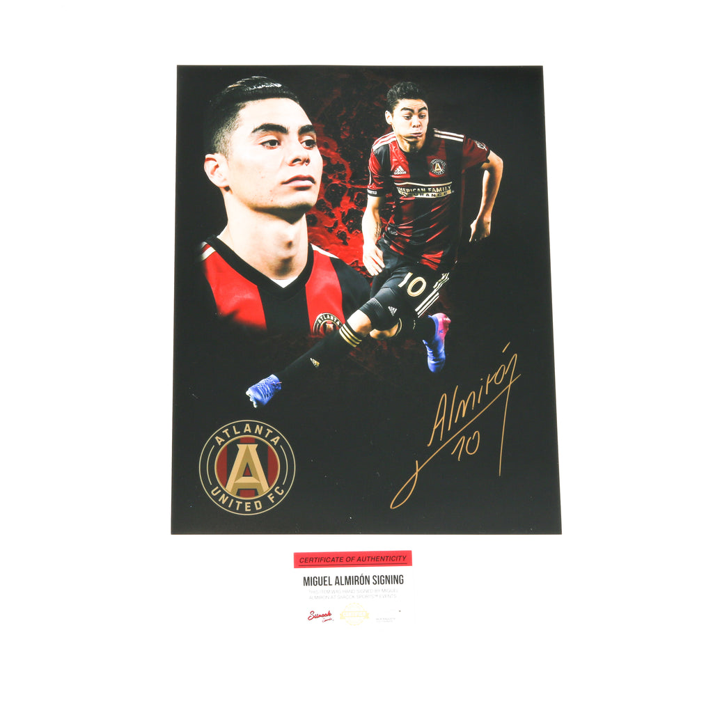 Miguel Almiron 11x14 Edit Atlanta United FC