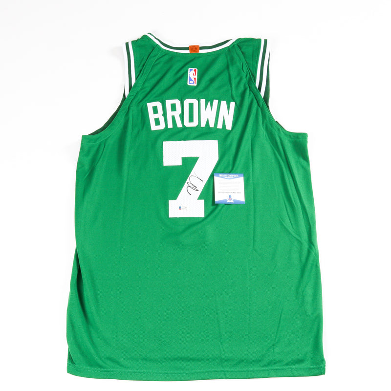 Jaylen Brown Signed Boston Celtics Jersey