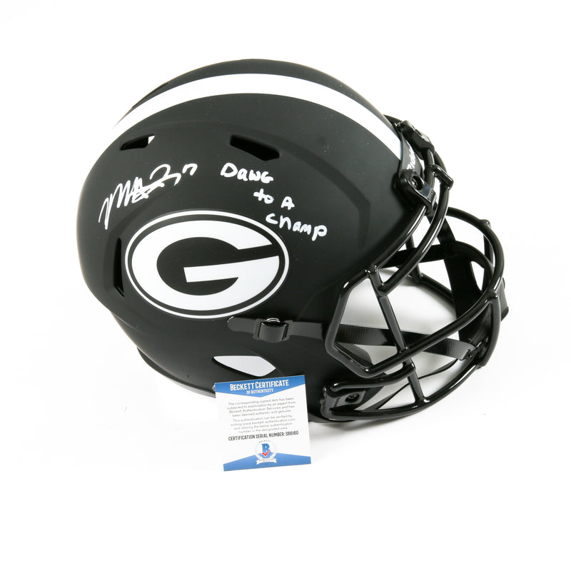 Mecole Hardman Signed Georgia Bulldogs Full Size Eclipse Helmet Inscribed