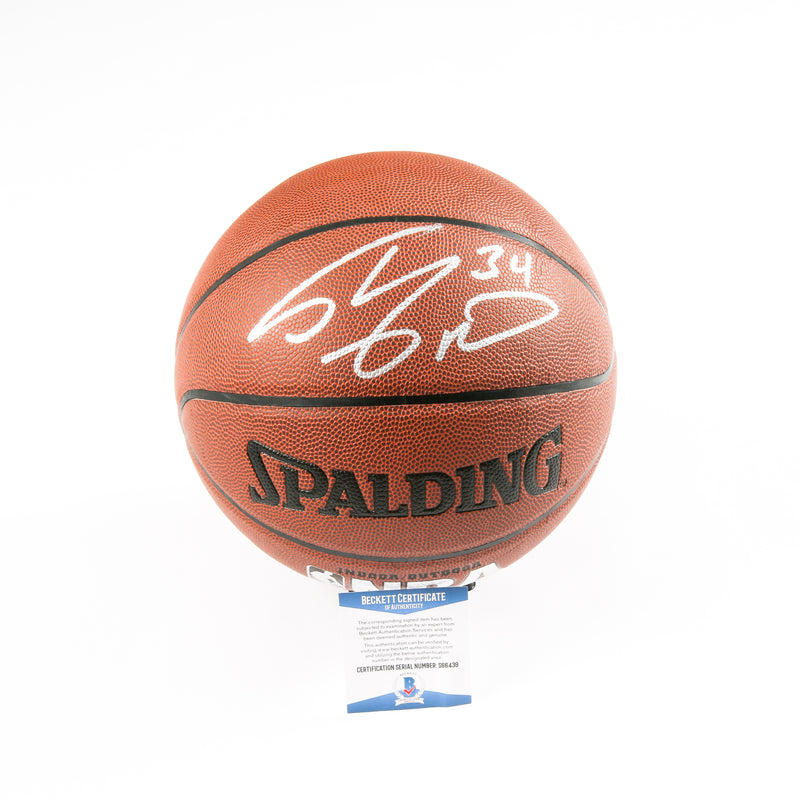Shaq Signed Basketball