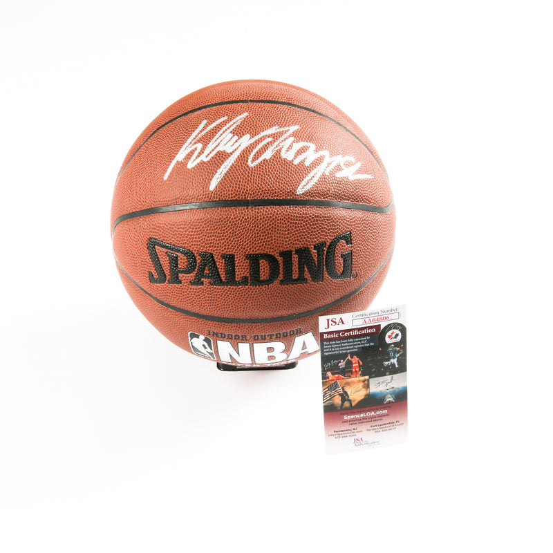 Klay Thompson Signed Basketball