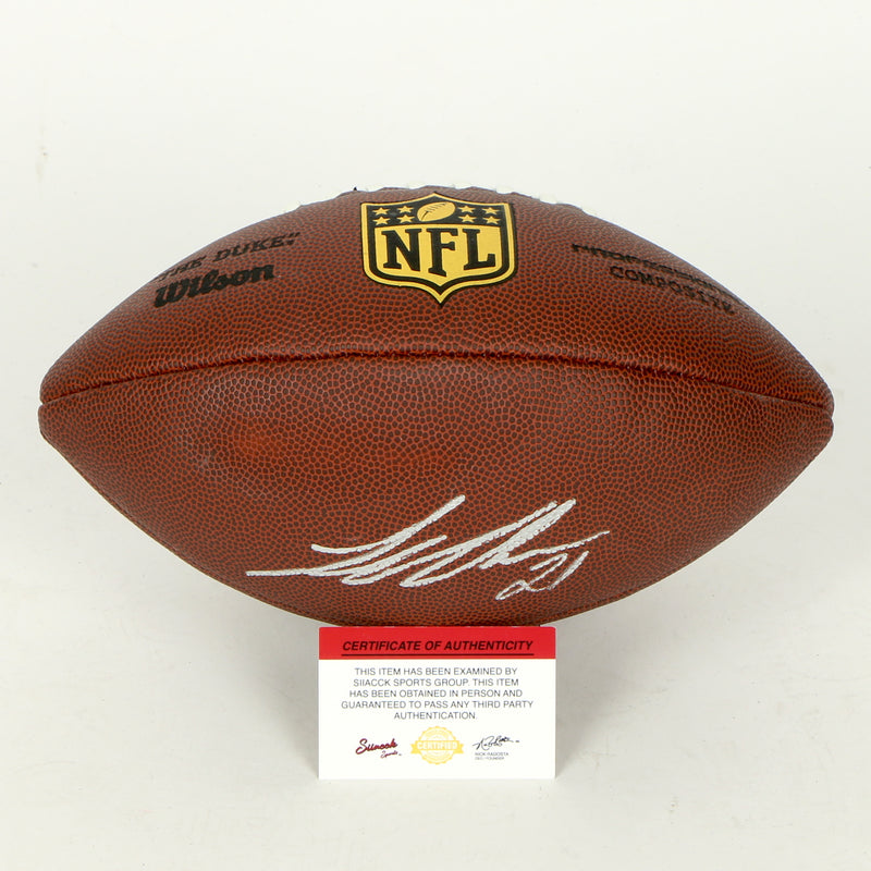 Landon Collins Signed Football Washington Redskins
