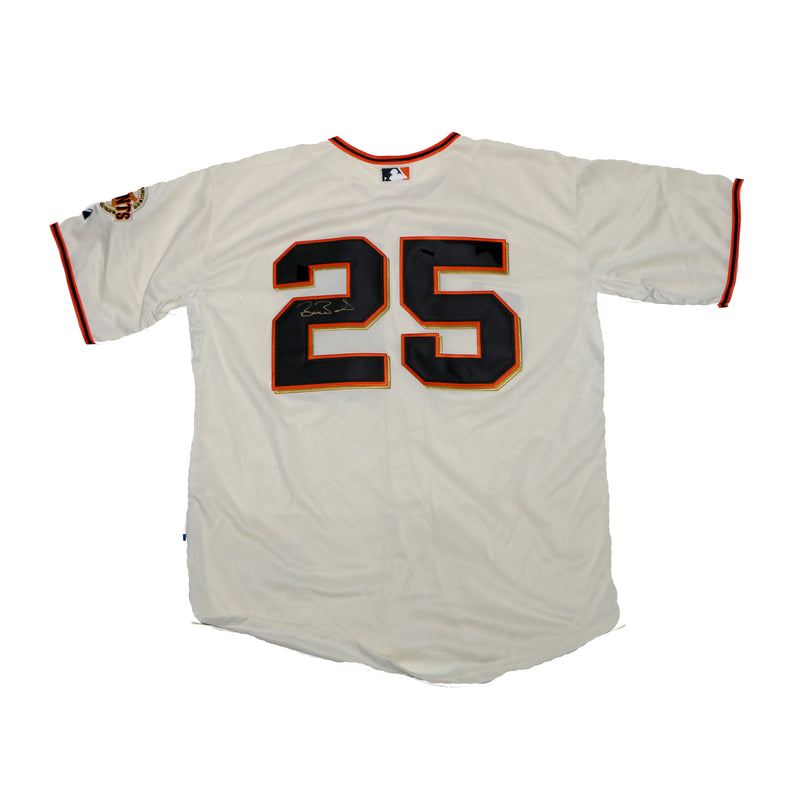 Barry Bonds Signed Giants Jersey
