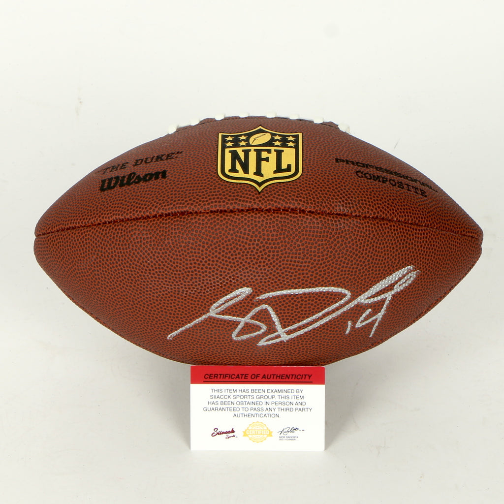 Sam Darnold Signed Football New York Jets