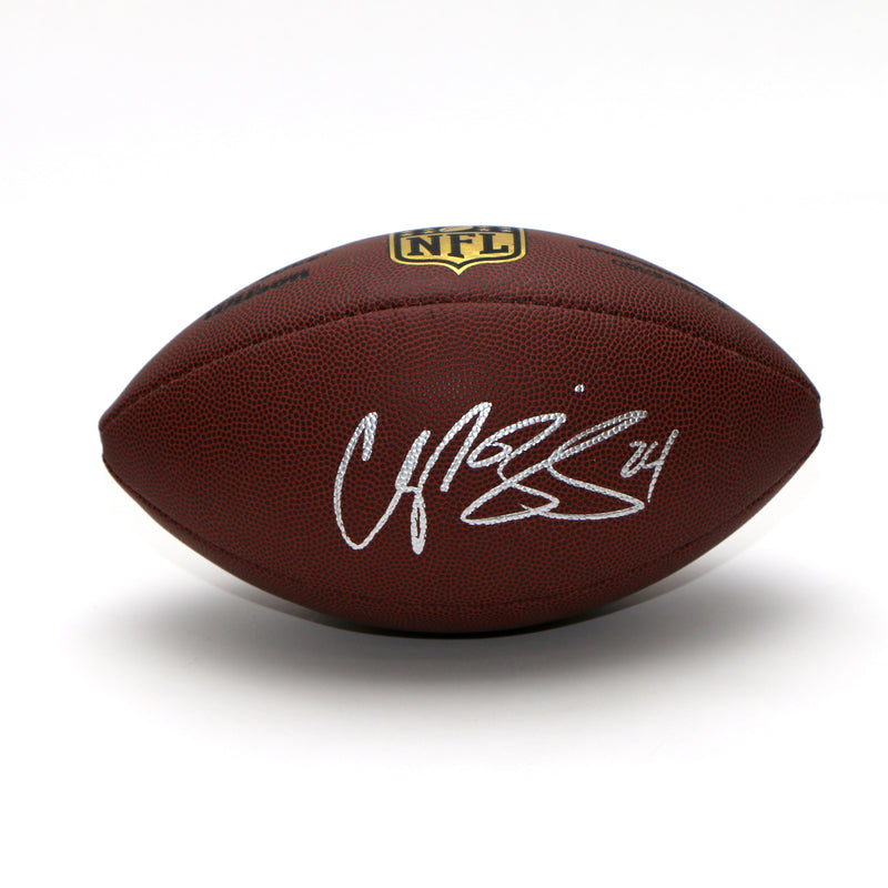 Champ Bailey Signed Football