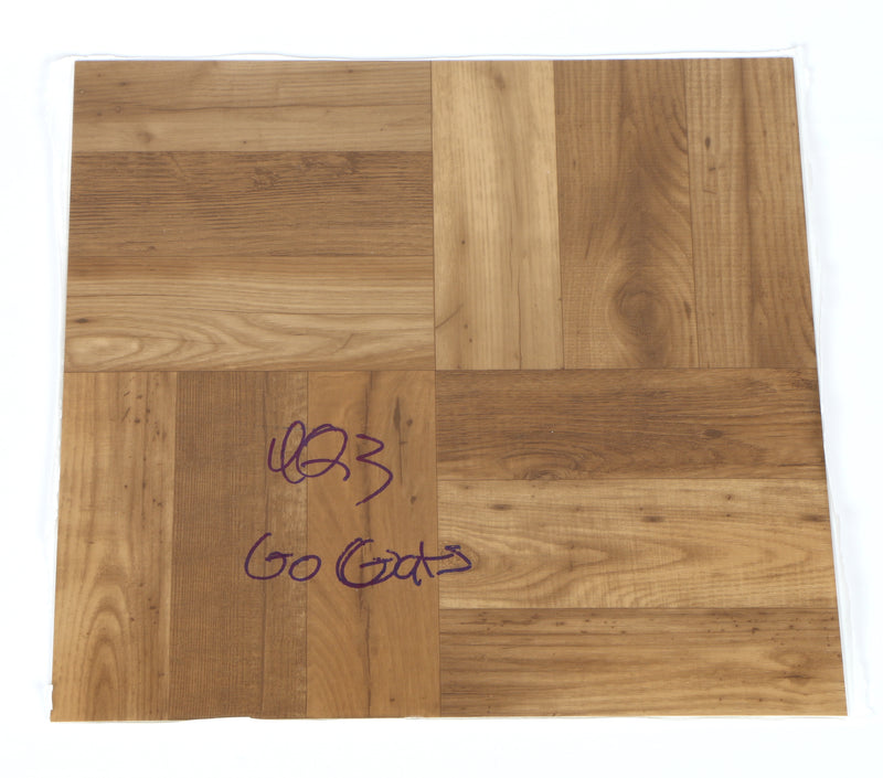 Immanuel Quickley Signed Floorboard