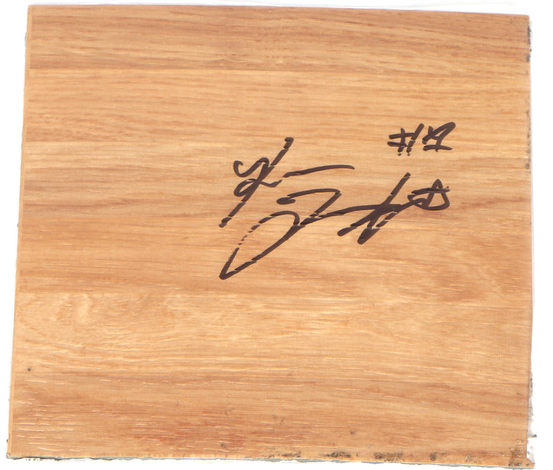 Romeo Langford Signed Floorboard Boston Celtics