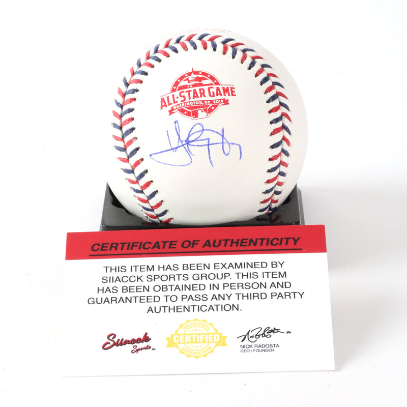 Yan Gomes SIGNED 2018 All Star OMLB Cleveland Indians