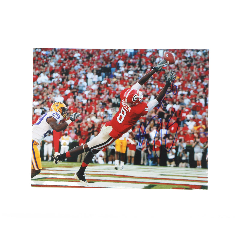 AJ Green 8x10 Photo Georgia Bulldogs